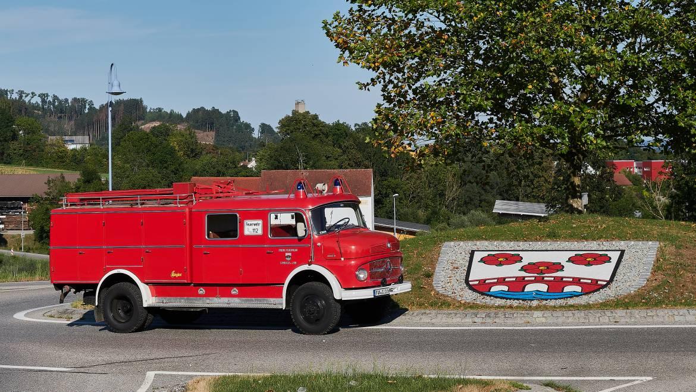 Löschgruppenfahrzeug LF 16 (außer Dienst)