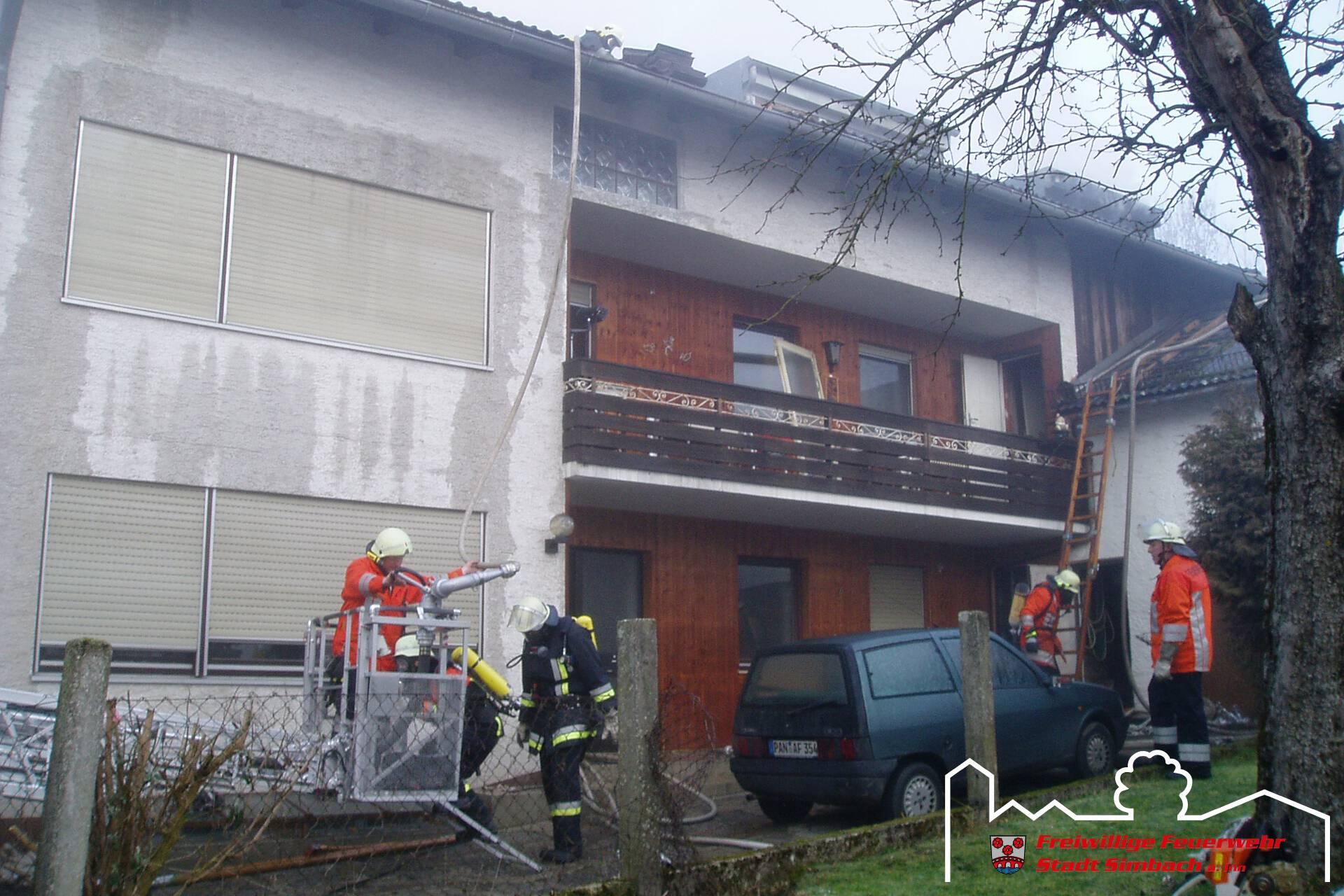 Wohnhausbrand 15.01.2007 (6)