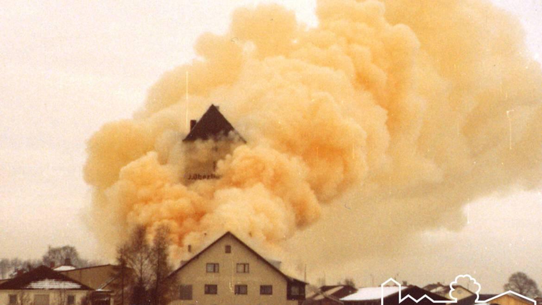 Schwelbrand erfordert Ausrufung des Katastrophenalarms