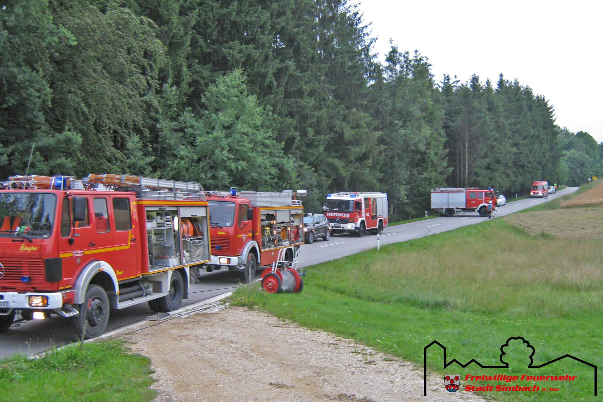 Verkehrsunfall Oberlangwied 03.07.2011 (1)