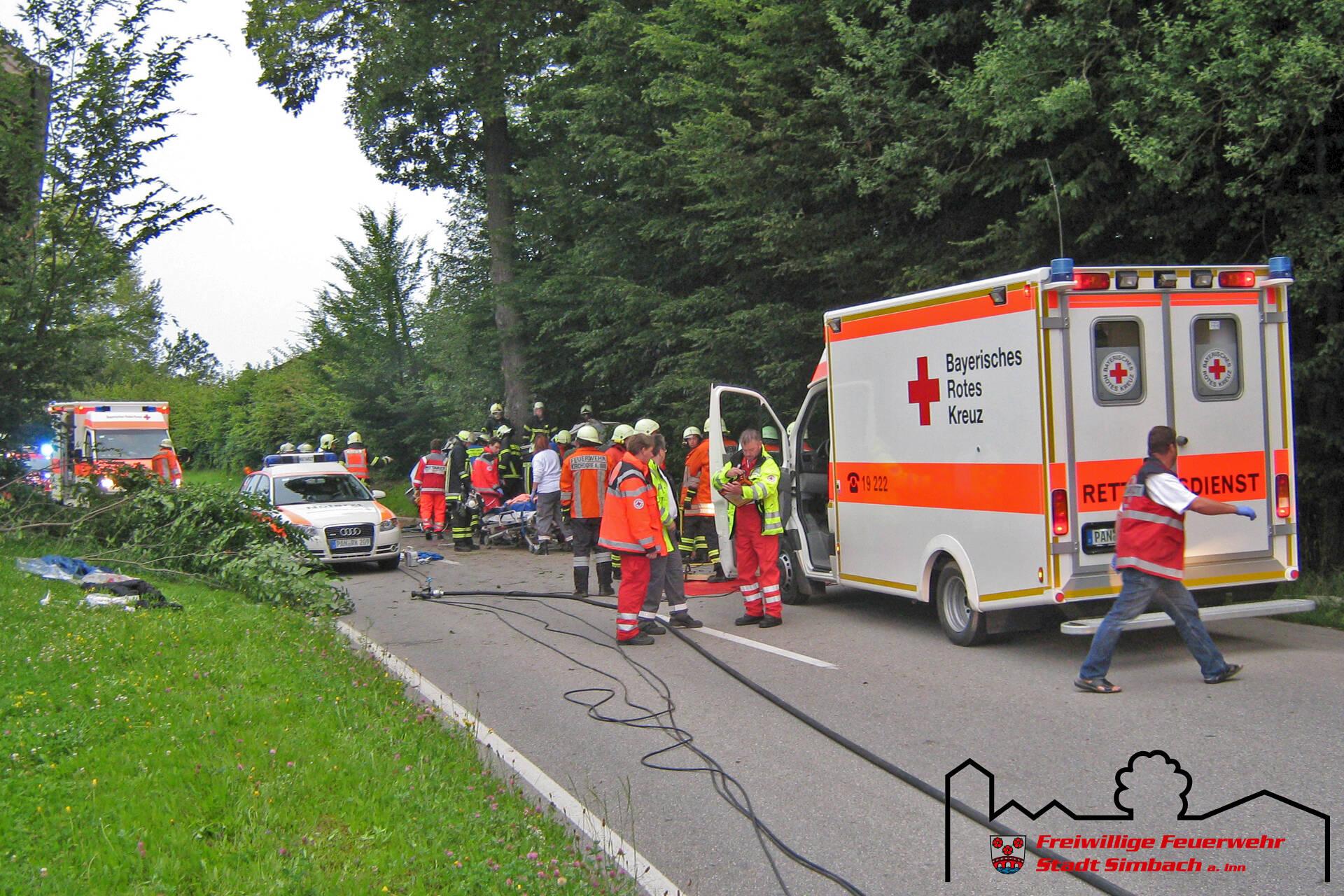 Verkehrsunfall Oberlangwied 03.07.2011 (2)