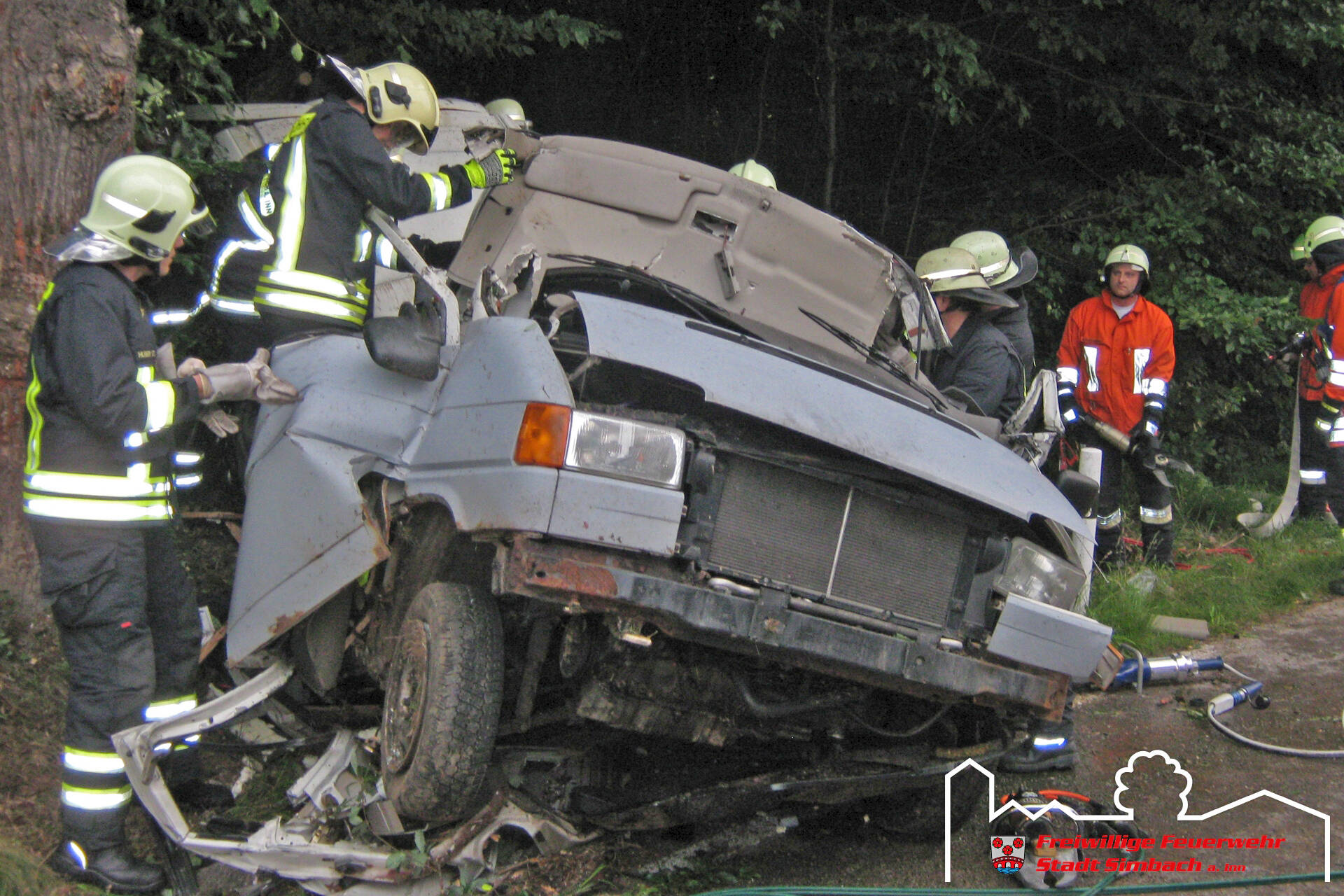 Verkehrsunfall Oberlangwied 03.07.2011 (3)